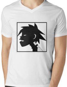 2D Mens V-Neck T-Shirt