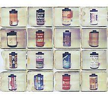 Film Collage #3 Photographic Print