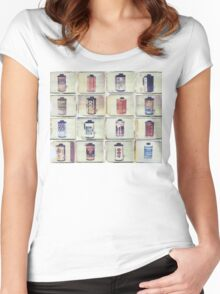 Film Collage #2 Women's Fitted Scoop T-Shirt