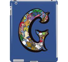 Doodle Letter G iPad Case/Skin