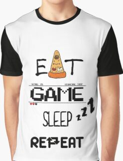 EAT, GAME, SLEEP, REPEAT Graphic T-Shirt