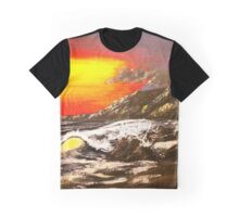Wave Of The Sun - Acrylic Art By DCP Graphic T-Shirt