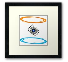 Portal Wheatley Framed Print