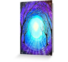 Light - Trees Greeting Card
