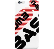 Bomb The Bass Music Quote iPhone Case/Skin