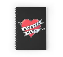 For the Love of Bigbang D4 Spiral Notebook