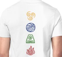 Bending Symbols Unisex T-Shirt
