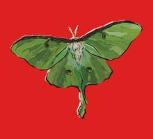 Luna Moth One Piece - Short Sleeve