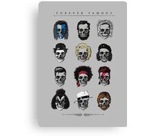 Famous Icons Canvas Print