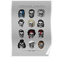 Famous Icons Poster