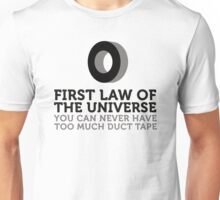 One can never have too much duct tape! Unisex T-Shirt