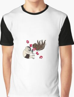 Stoner sloth in Japanese Graphic T-Shirt