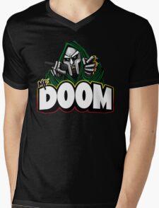 DOOM! Mens V-Neck T-Shirt