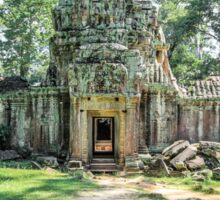 Old Temple of Cambodia Sticker