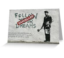 banksy-14 Greeting Card
