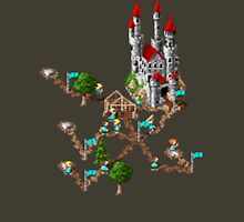Settlers 1 - Retro pixel art DOS game fan shirt Unisex T-Shirt