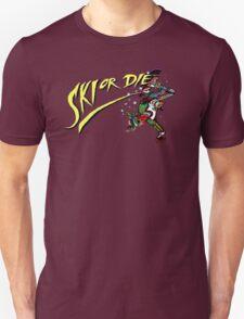 Oldies Ski or Die - Retro Pixel DOS game fan shirt T-Shirt