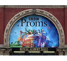 BBC Proms at The Royal Albert Hall Photographic Print