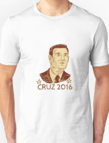 Ted Cruz President 2016 Drawing T-Shirt