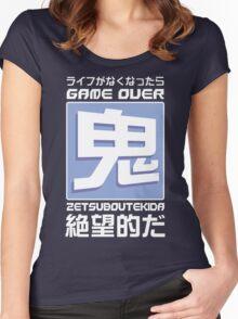 鬼Mode Women's Fitted Scoop T-Shirt