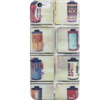 Film Collage #5 iPhone Case/Skin