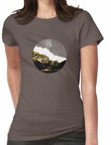 Golden Mountain  Womens Fitted T-Shirt