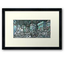 'Twilight in Hanoi' Framed Print