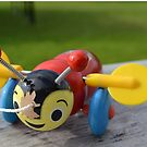 The Buzzy Bee Toy by Barbara Caffell