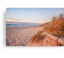 Southport Beach, South Australia at Sunset #4 Canvas Print