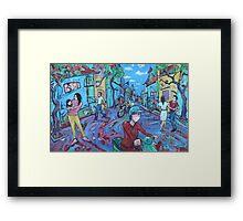 'Hanoi Street' Framed Print