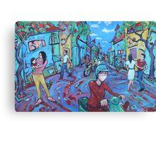'Hanoi Street' Canvas Print