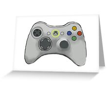 Xbox 360 Controller  Greeting Card