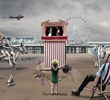Blackpool 'Pleasure' Beach by Patrick Hawkins