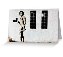 banksy-18 Greeting Card