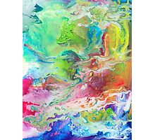 Psychedelic Rivers Photographic Print