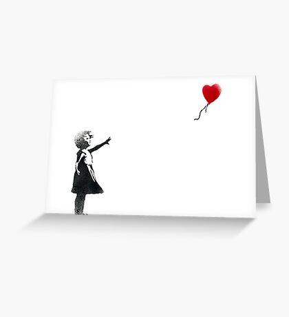 banksy-19 Greeting Card