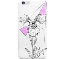 Pink Geometric Iris iPhone Case/Skin