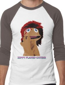 Zippy Played Guitar Men's Baseball ¾ T-Shirt