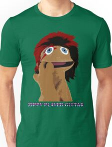 Zippy Played Guitar Unisex T-Shirt