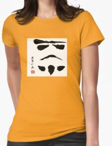 Stormtrooper chan Womens Fitted T-Shirt