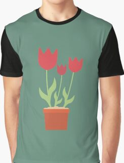 Red tulips Graphic T-Shirt