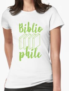BIBLIOPHILE with books T-Shirt