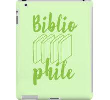 BIBLIOPHILE with books iPad Case/Skin