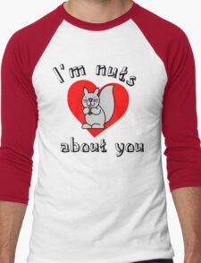Nuts about you Men's Baseball ¾ T-Shirt