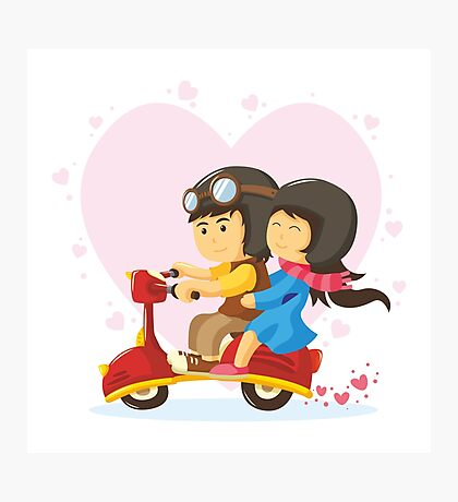 couple in love Photographic Print
