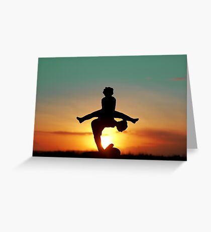 2016 Leap Year Sunset Greeting Card