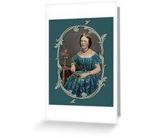The Blue Dress Greeting Card