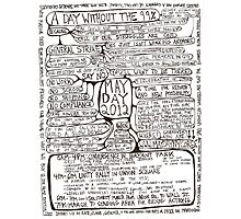 May Day Flowchart Photographic Print