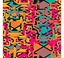 Colorful shapes Photographic Print