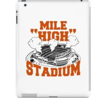 mile high stadium iPad Case/Skin